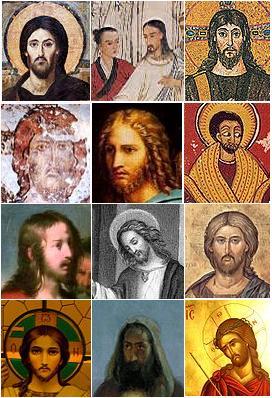 vzhled Ježíše, různé vyobrazení